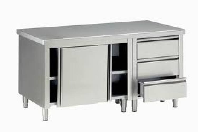 Vendita armadi e tavoli refrigerati tavoli inox a giorno - Tavoli inox per ristorazione ...